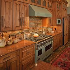 rustic glass kitchen cabinets stunning slate glass kitchen backsplash slate