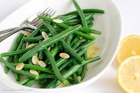 green bean salad with toasted almonds a sweet muddle