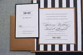 black and gold wedding invitations 20s black gold and white wedding invitations