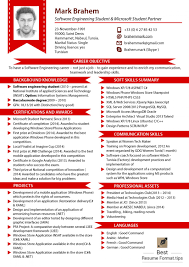 Best Resume Formate by Best Resume Format With Photo Free Resume Example And Writing