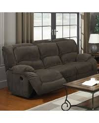 austere gray 2 seat reclining sofa dbl rec loveseat w wellsuited