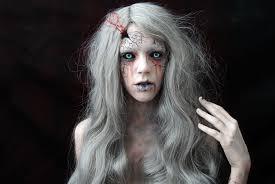 ghost halloween el espinazo del diablo inspired make up youtube