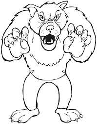 big bad wolf coloring pages getcoloringpages