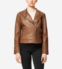 Leather Barn Coat Women U0027s Outerwear Cole Haan