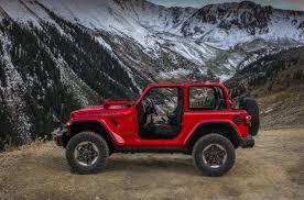 wrangler jeep 2 door 2018 jeep wrangler revealed in 2 door u0026 4 door form performancedrive