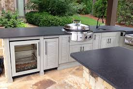 outdoor kitchen furniture outdoor kitchens and weatherproof cabinetry from naturekast