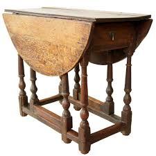 Drop Leaf Oak Table Antique Georgian Oak Drop Leaf Gateleg Table