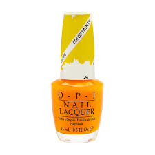 opi nail lacquer color paints collection nl p20 primarily yellow