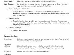 Resume Sample Electronics Technician by Fun First Time Resume Templates 10 25 Remarkable Basic Resume