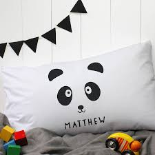 Adventure Time Bedding Personalised U0027panda U0027 Pillow Case By A Piece Of