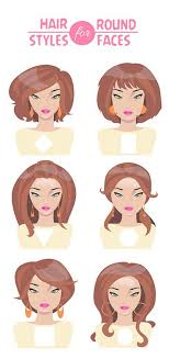 hair styles for round faces and long noses 25 best hairstyles for round faces with pictures