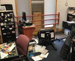soulless vandal trashes minneapolis american school
