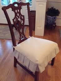 dining room seat covers slipcover a side chair dressmaker style dining chairs