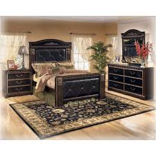 b175 57 ashley furniture queen upholster mansion panel bed