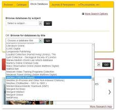 online yearbook database unb libraries ovid medline guide