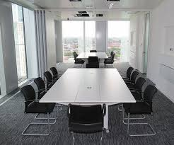 Large White Meeting Table Folding Conference Tables Fusion Executive Office Furniture