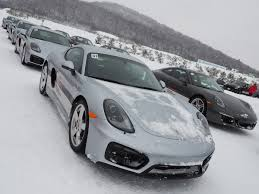 porsche canada porsche camp4 canada offers winter driving excitement openroad