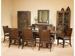 At Home Furniture Modesto by Magnussen Home Dining Room Rectangular Dining Table Rustic Warm