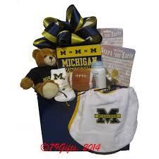 michigan gift baskets big 10 baby alumni gift basket