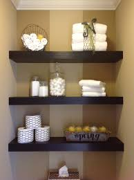 bathroom shelf decorating ideas how to decorate a floating shelf in bathroom floating shelves