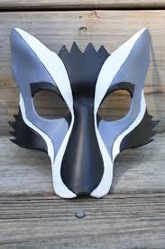 Wolf Mask Leather Kabuki Wolf Mask By Silvercicada On Deviantart