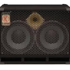 8 ohm bass speaker cabinet eden d210xst 8 ohm 2x10 bass cabinet show demo unit reverb
