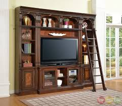 tv unit with glass doors tv stands dark reclaimed wood tv stand with shelves and glass