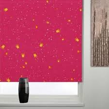 Thermal Blackout Blinds Princess Pink Blackout Roller Blind Free Uk Delivery Terrys