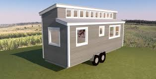 tiny house plans shed roof