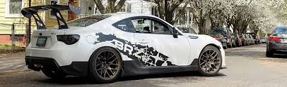 subaru brz front bumper brz scion fr s performance parts