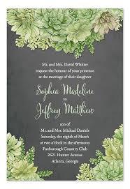 Succulent Wedding Invitations Best 25 Succulent Wedding Invitations Ideas On Pinterest
