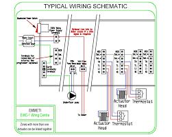 y plan central heating system within underfloor heating wiring