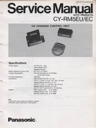 panasonic auto stereo cq dp38eu cq dp38ec cd player service manual