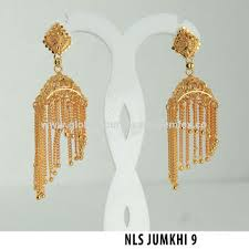 new jhumka earrings india gold plated chandelier earrings jewelry maker gold plated