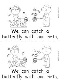 butterflies emergent reader emergent readers students and