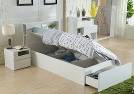 swansea king single gas lift bed huge storage area bed head