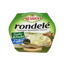 boursin cuisine light president rondele garlic herbs light cheese spread from cub