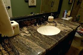 granite countertops for bathroom vanities dark granite installed