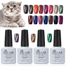 aliexpress com buy gel lab 10ml shinny soak off cats eye