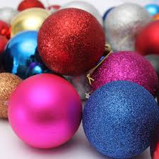 24pcs christmas tree xmas balls decorations baubles party wedding