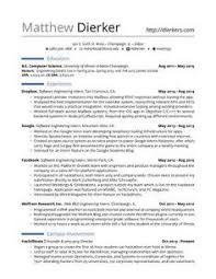 Real Free Resume Templates Resume For Software Engineer Software Engineer Resume Templates