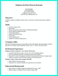 Enterprise Architect Resume Sample by Data Architect Resume Free Resume Example And Writing Download