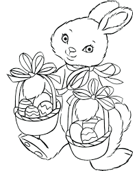 free printable bunny tags easter coloring sheets books