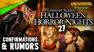 2017 halloween horror nights map halloween horror night news announcements u0026 rumors universal
