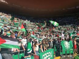Palistinian Flag Celtic Fans Raise Palestinian Flag In Solidarity With Prisoners U2013 Pnn