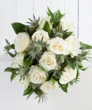 White Rose Bouquet Luxury Bouquets Fabulous Flowers