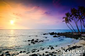Hawaii landscapes images Sunset mahai 39 ula beach hawaii landscape photography kahuku jpg