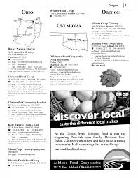 Sample Page Sample Directory Page National Co Op Directory