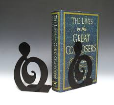 buy g clef bookends music stationery music bookend