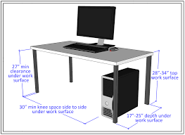 Height Of Computer Desk Computer Lab Accessibility Guidelines Accessible Technology